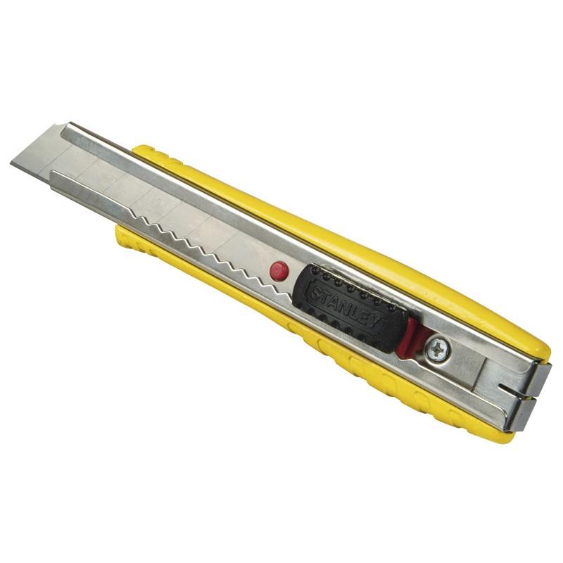 STANLEY 0-10-421 αυτομπλοκαριζομενο μαχαιρι μεταλλικο με λαμα 18mm