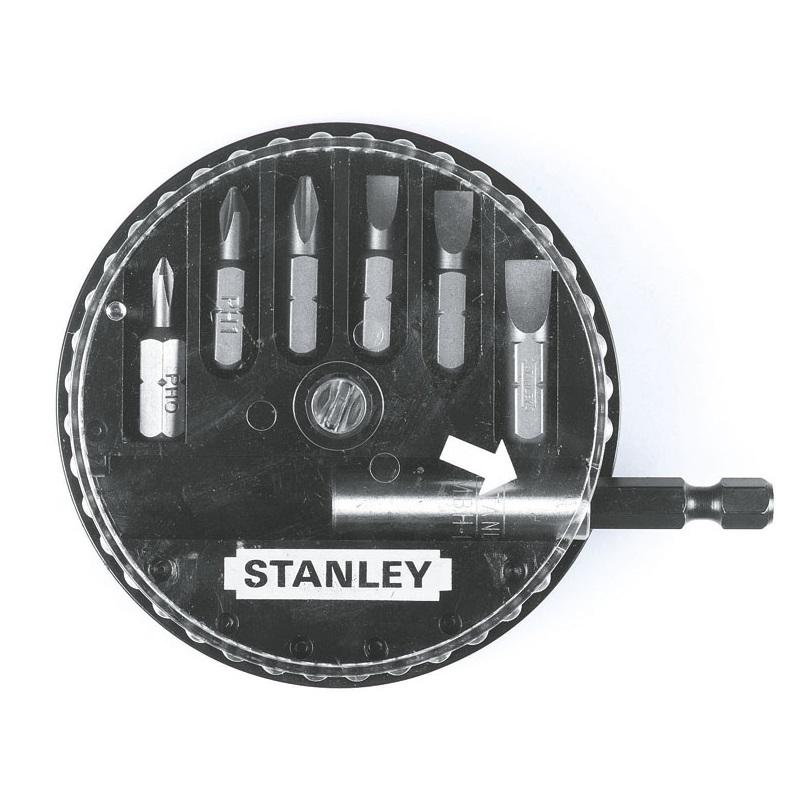 STANLEY 1-68-735 σετ μυτες 7 τμχ ισιες , σταυρου (Phillips)