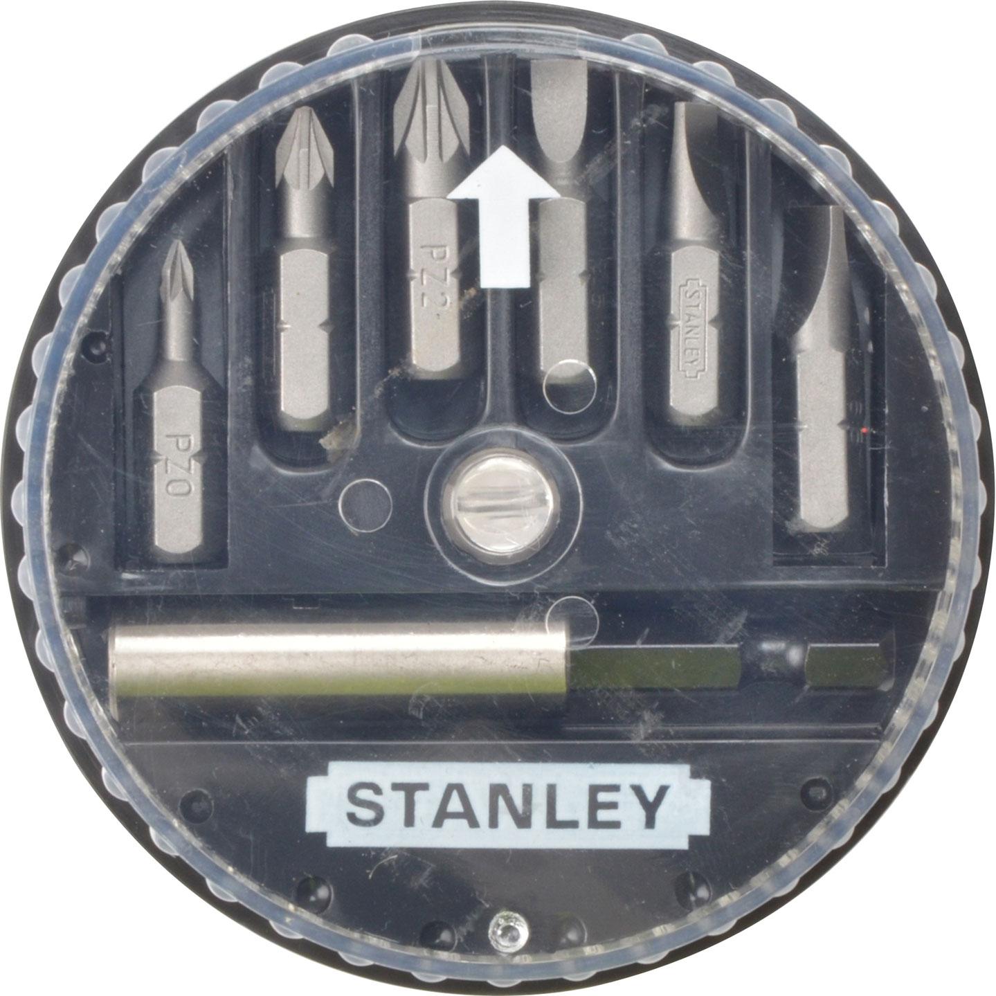 STANLEY 1-68-738 σετ μυτες 7 τμχ ισιες , Pz