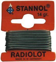 συρμα κολληση STANNOL Sn40Pb60 1.5mm 1m
