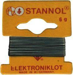 συρμα κολληση STANNOL Sn60Pb38Cu2 1,0mm 1m