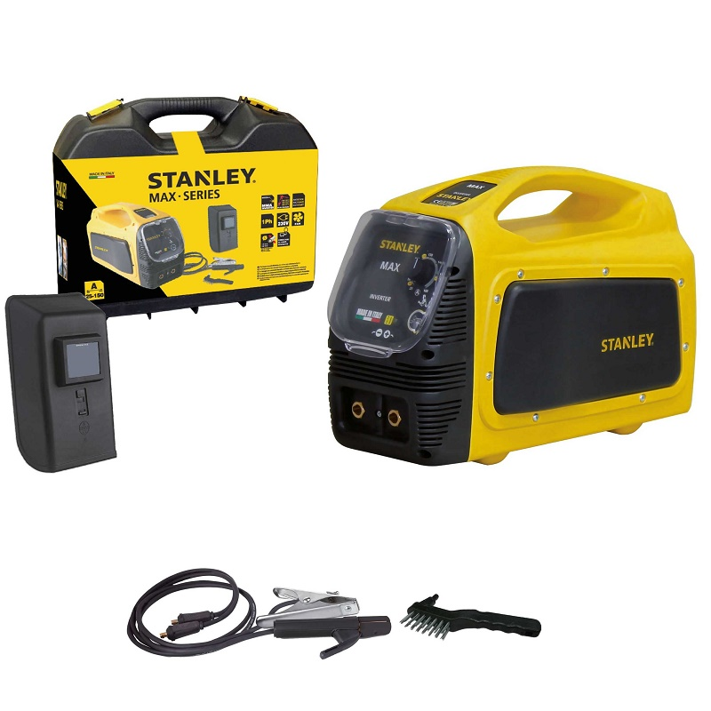 STANLEY MAX 160 ηλεκτροκόλληση Inverter 150A made in Italy