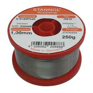 συρμα κολληση STANNOL HS10 Sn30Pb70 1mm 100g