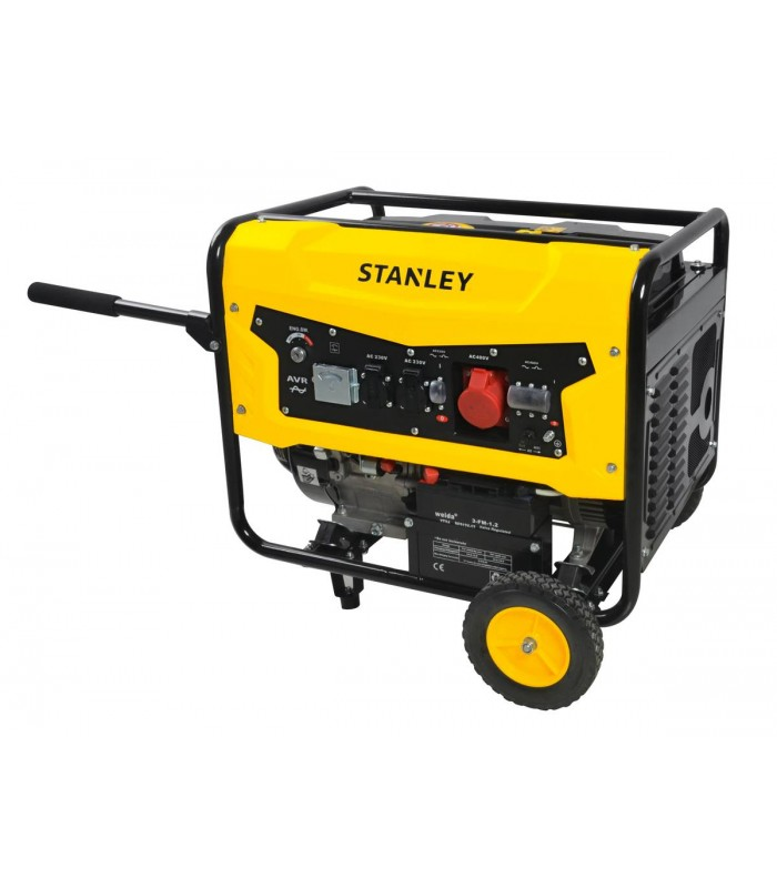 STANLEY SG 5600 ηλεκτρογεννητρια τριφασικη βενζινοκινητη 5000W