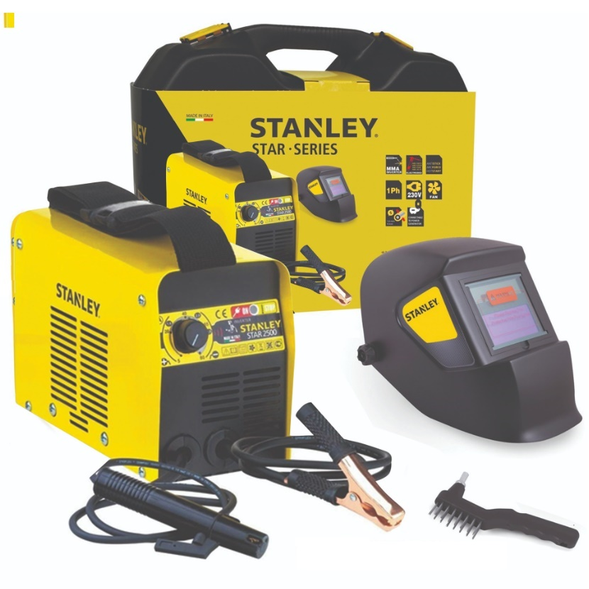 STANLEY STAR 2500 ηλεκτροκόλληση Inverter 80A made in Italy