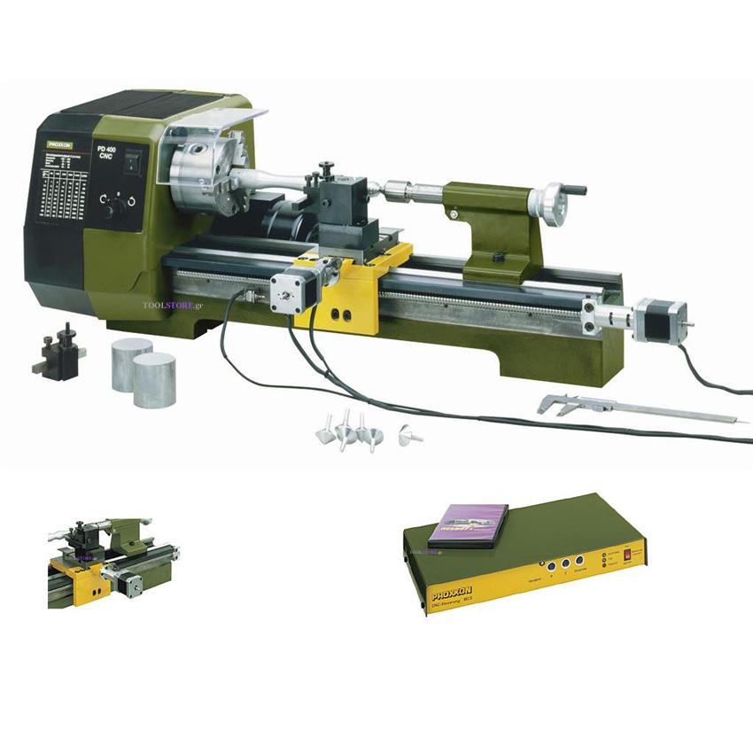 PROXXON 24500 τορνος για μεταλλα μεγαλος CNC