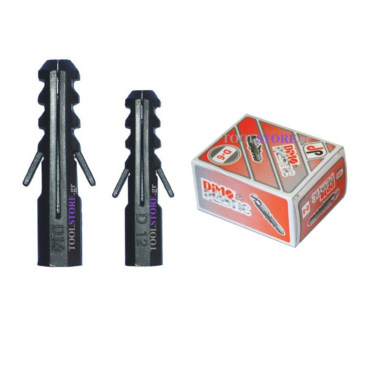βυσματα πλαστικα DiMO PLASTiC  No.5 100  τεμαχ.