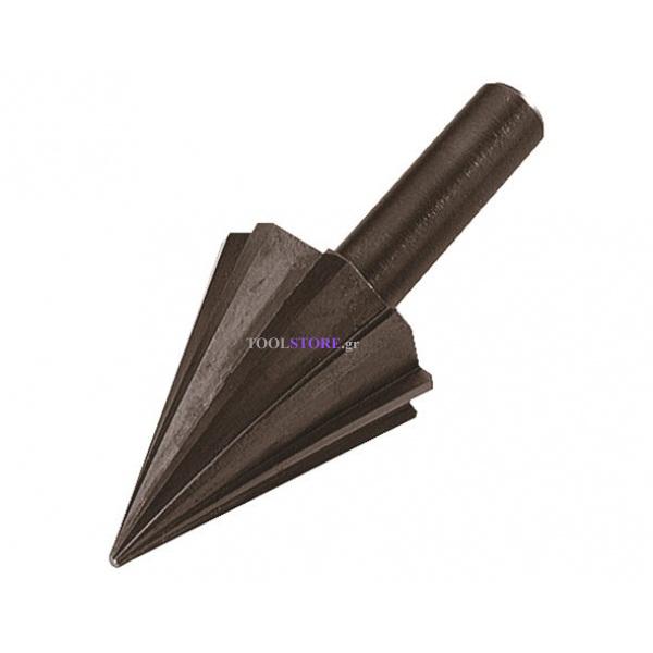 wolfcraft 2523000 φρεζα κωνικη 6-24mm για ξυλο πλαστικο μη σιδ/χα μεταλλα