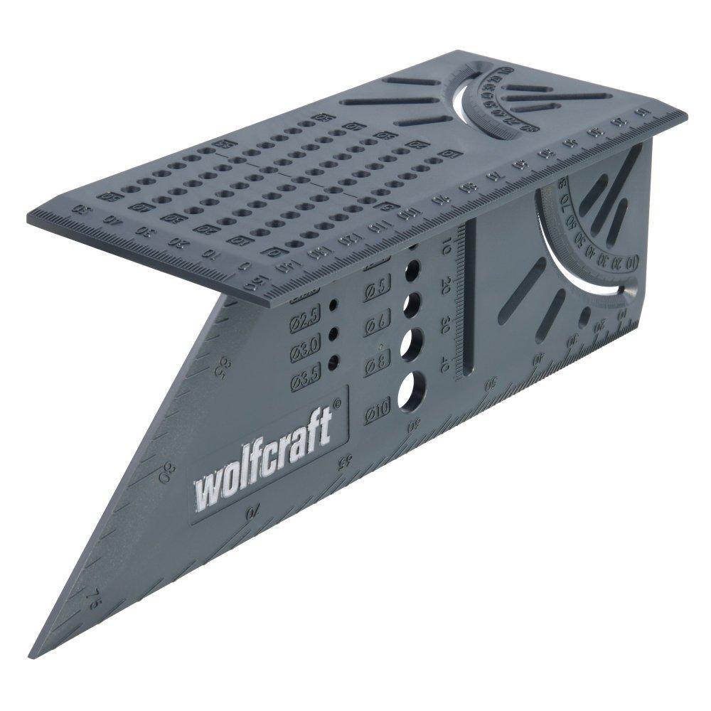 wolfcraft 5208000 3D-μήτρα σχεδίασης, σήμανσης, μέτρησης