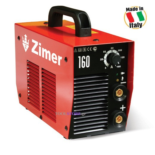 INVERTER ηλεκτροκολληση  Zimer 160 made in Italy